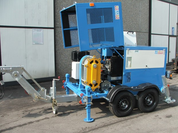 Omac Underground Cable Pulling Machinery