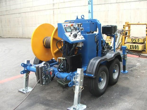 underground cable machine